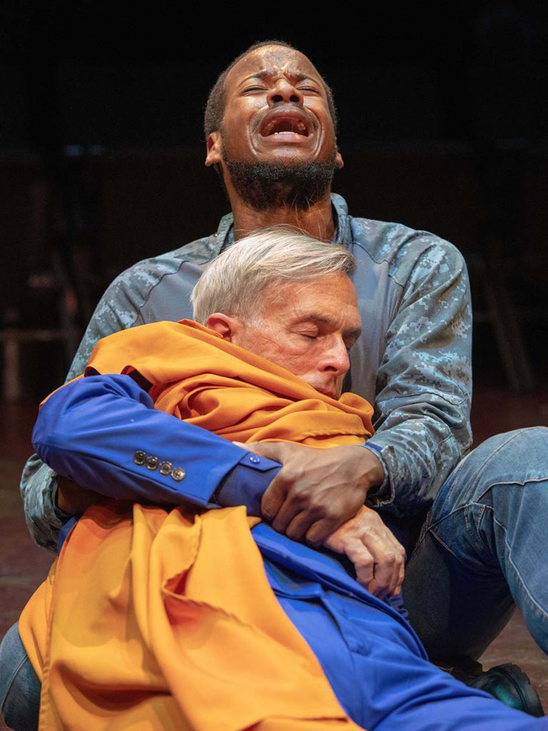 Yusef Seevers as Mark Antony Michael Tremblay as Caesar